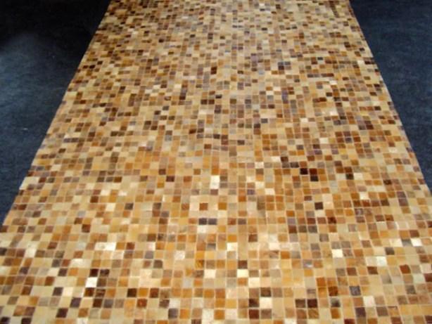 Patchwork Sandstone Area Rug Rug Size: Rectangle 6' x 9'
