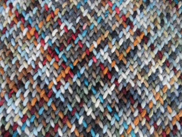 Haze Multi-colored Area Rug Rug Size: Rectangle 6' x 9'