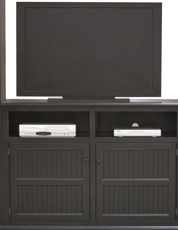 Didier Country Birchwood TV Stand Door Type: Wood, Color: European Cherry