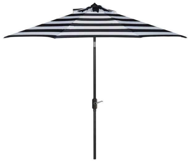 9' Market Umbrella Color: Navy/White