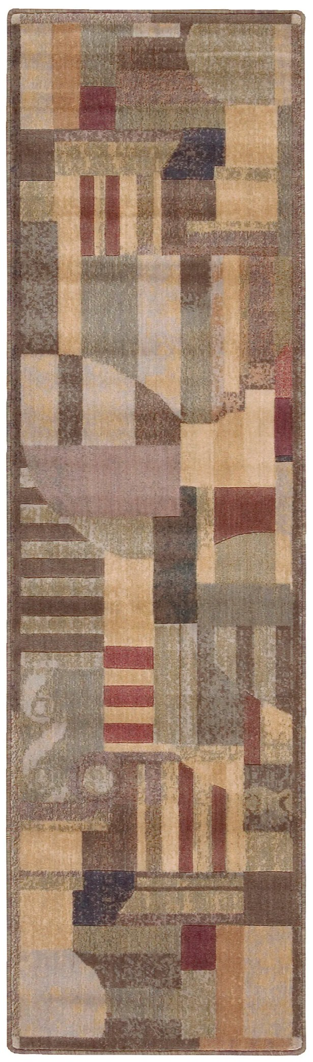 Greenwich Hand-Woven Brown Area Rug Rug Size: Runner 2'3