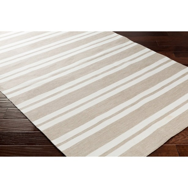 Winnwood Hand-Woven Brown Indoor/Outdoor Area Rug Rug Size: Rectangle 5' x 7'6