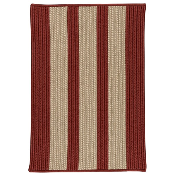 Seal Harbor Rust Red Indoor/Outdoor Area Rug Rug Size: Square 10'
