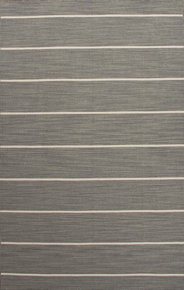 Templeton Gray/Ivory Stripe Area Rug Rug Size: Rectangle 10' x 14'