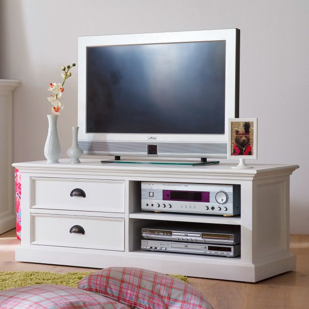 Amityville Modern TV Stand Width of TV Stand: 18