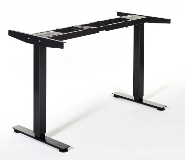 Quadro Height Adjustable Standing Frame Finish: Black