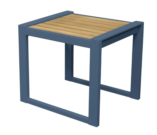 California Room End Table Color: Slate Blue