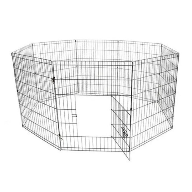 Messner Exercise Cage Fence 8 Panel Pet Pen Size: 36