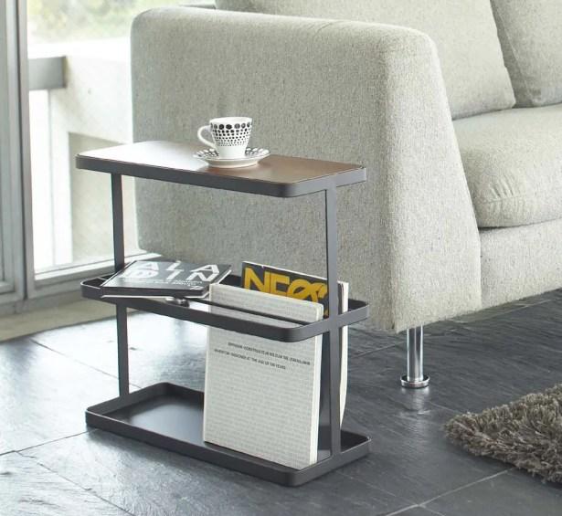 Espinal End Table Color: Black