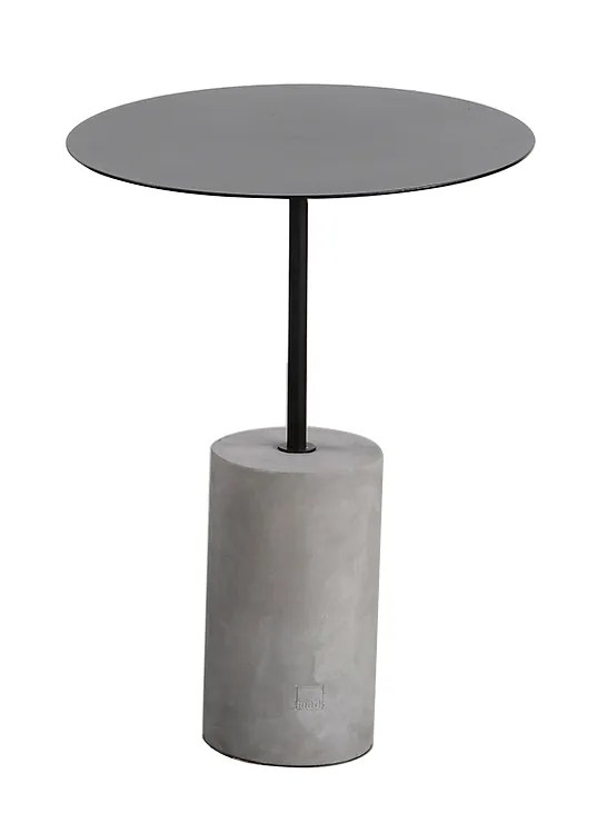 Pier End Table Color: Black