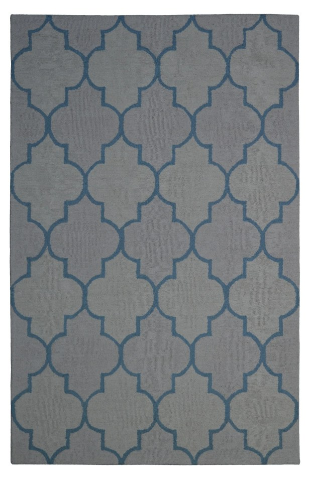 Wool Hand-Tufted Beige/Ivory Area Rug Rug Size: 5' x 8'