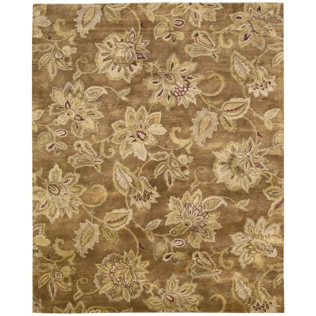 Morgan Bronze Area Rug Rug Size: Rectangle 7'9