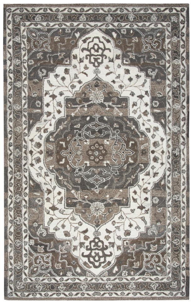 Byron Hand-Tufted Brown Area Rug Rug Size: Runner 2'6