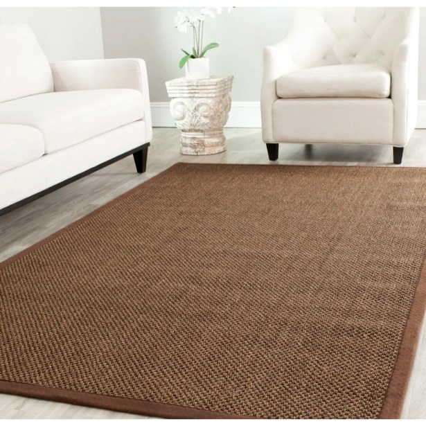Greene Hand-Woven Brown Area Rug Rug Size: Rectangle 2'6
