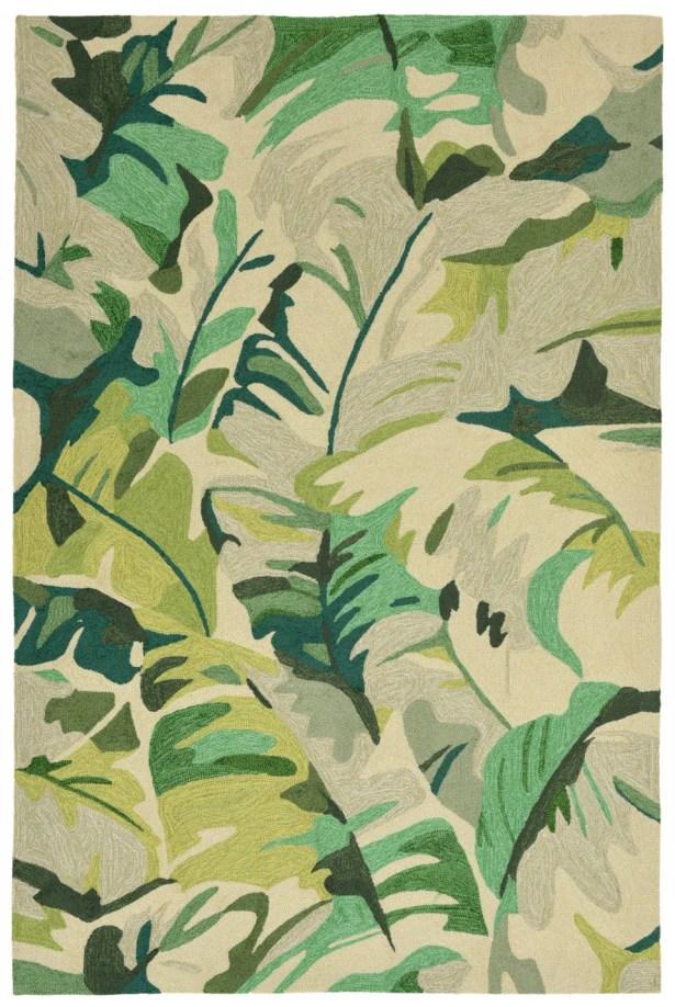 Rachael Hand-Tufted Green Indoor/Outdoor Area Rug Rug Size: Rectangle 3'6