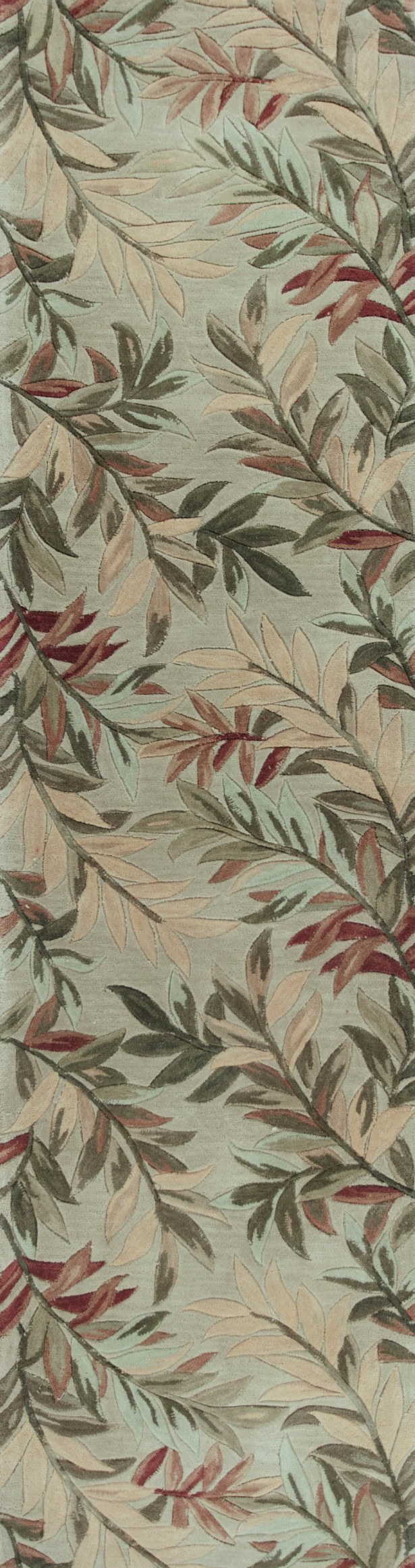 Murray Sage Tropical Branches Area Rug Rug Size: Round 5'6