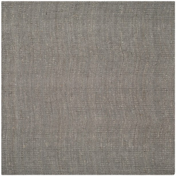 Greene Hand-Woven Gray Indoor Area Rug Rug Size: Square 8'