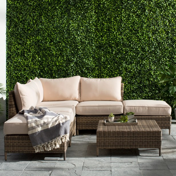 Sophie 6 Piece Sectional  Set with Cushions