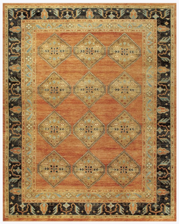 Barter Area Rug Rug Size: Rectangle 9'6