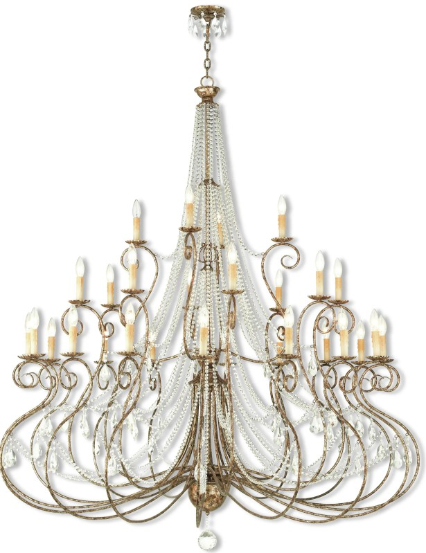 Charley 28-Light Candle Style Chandelier