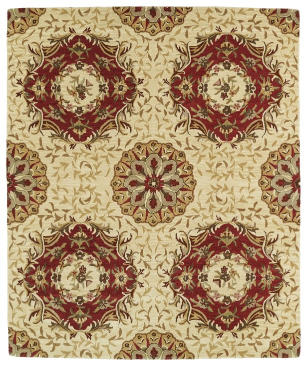 Barkell Beige Area Rug Rug Size: Rectangle 5' x 7'9