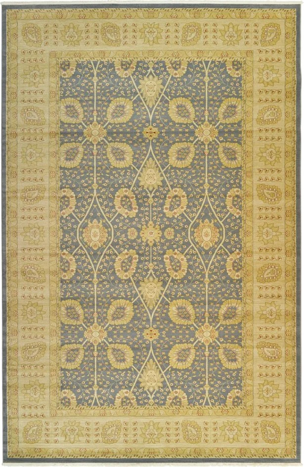 Willow Blue Area Rug Rug Size: Round 8'
