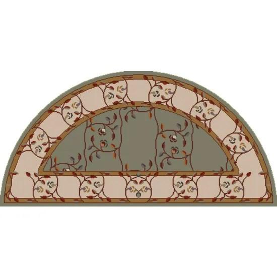 Keefer Gray Floral Area Rug Rug Size: Slice 2' x 4'
