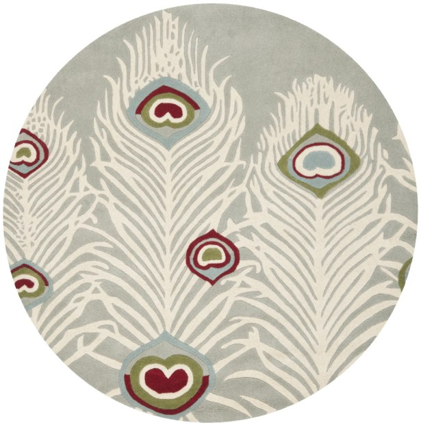 Dorthy Grey / Ivory Rug Rug Size: Rectangle 6' x 9'