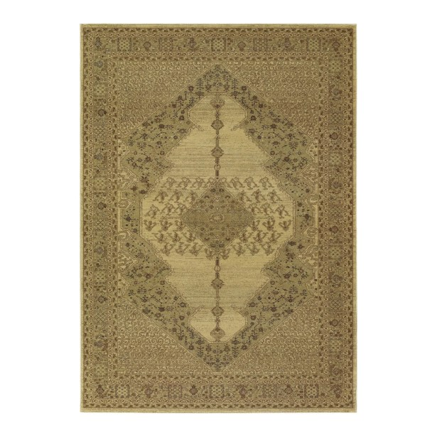 Cleveland Beige Area Rug Rug Size: Rectangle 5'3