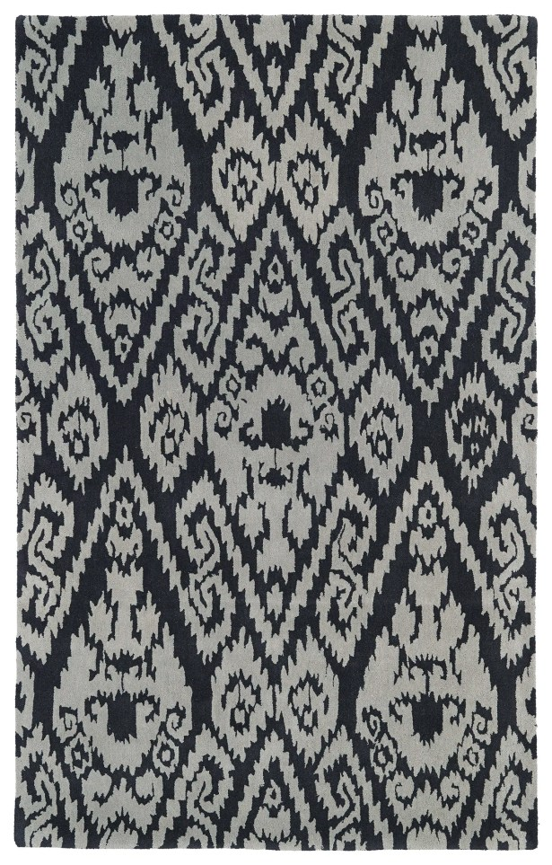 Roskilde Grey Area Rug Rug Size: Rectangle 5' x 7'9