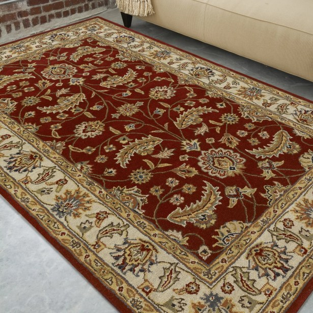 Keefer Red Area Rug Rug Size: Runner 3' x 12'