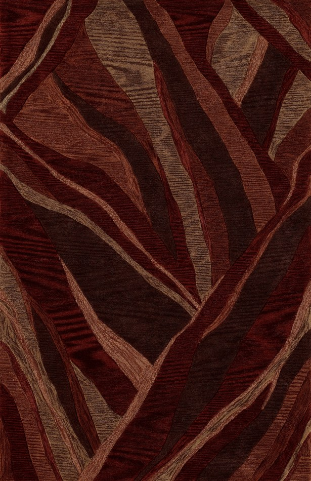 Sanders Hand-Tufted Canyon Area Rug Rug Size: Rectangle 3'6
