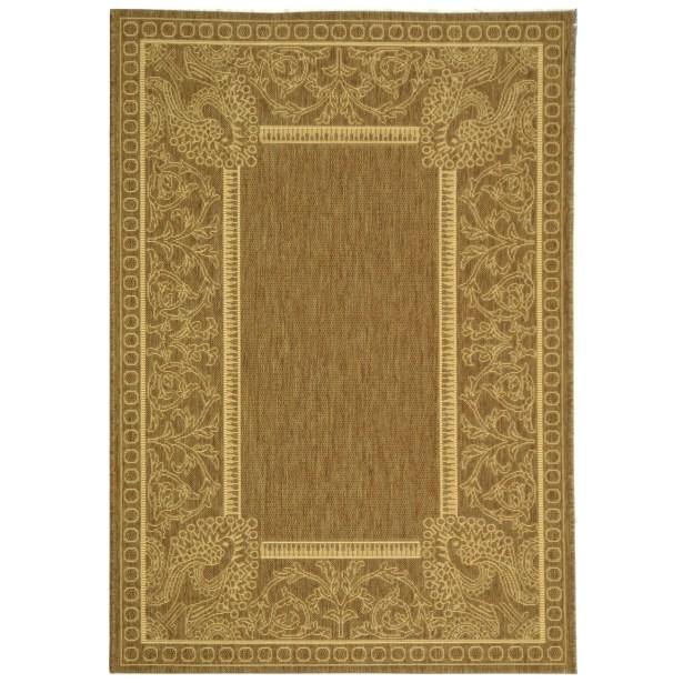 Catori Brown/Natural Rug Rug Size: Rectangle 4' x 5'7