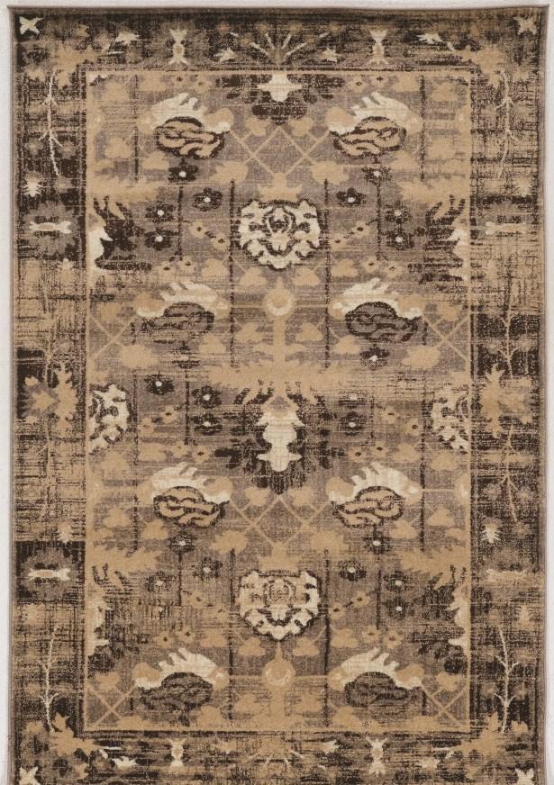 Shelie Hamadan Beige Area Rug Rug Size: Rectangle 5' x 7'6