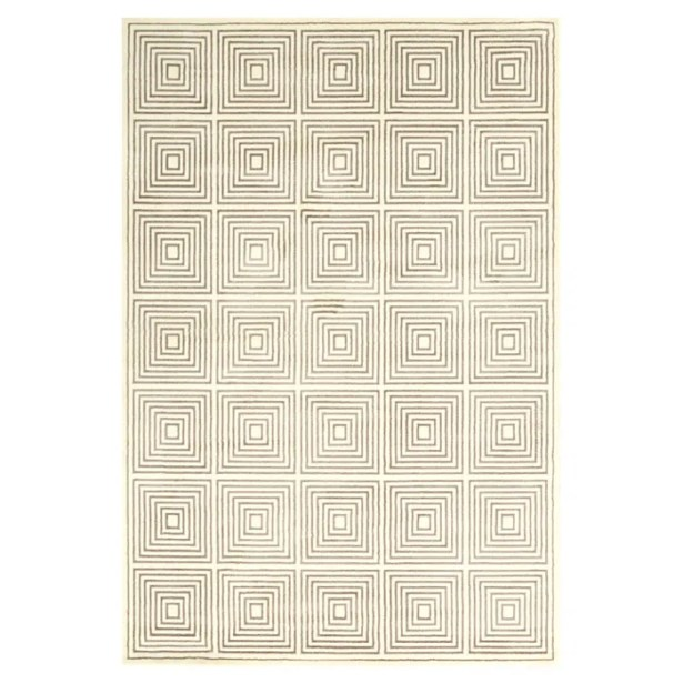 Bosse Cream Area Rug Rug Size: Rectangle 5' x 8'