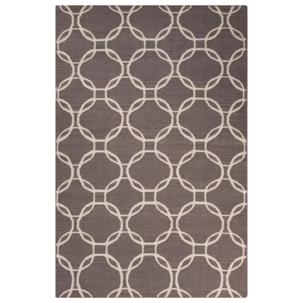 Wilder Gray/Ivory Area Rug Rug Size: 5' x 8'