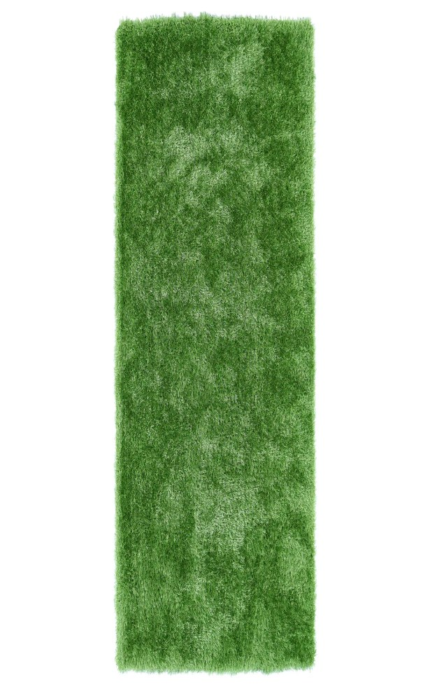 Caine Lime Green Area Rug Rug Size: Runner 2'3