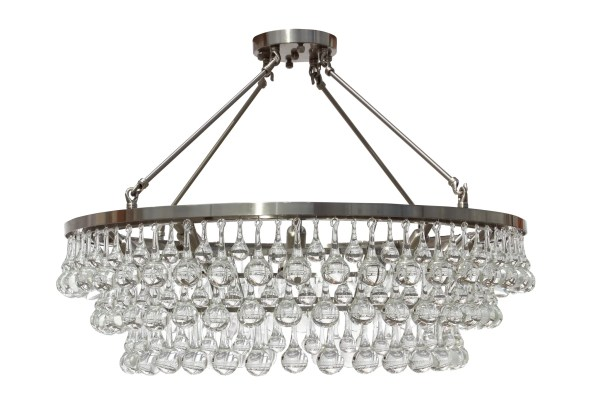 Fabrice 10-Light LED Flush Mount Finish: Chrome