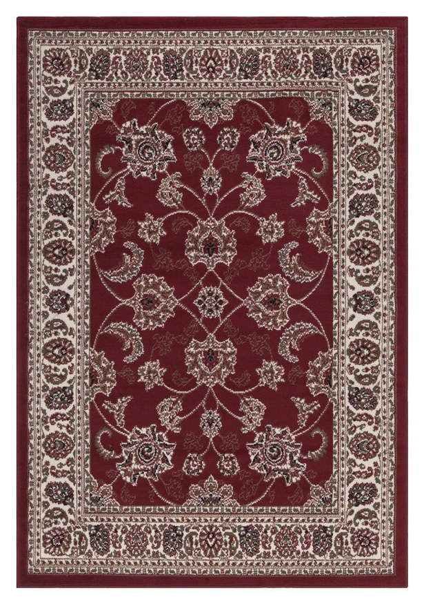 Clifton Oriental Red Area Rug Rug Size: 7'10