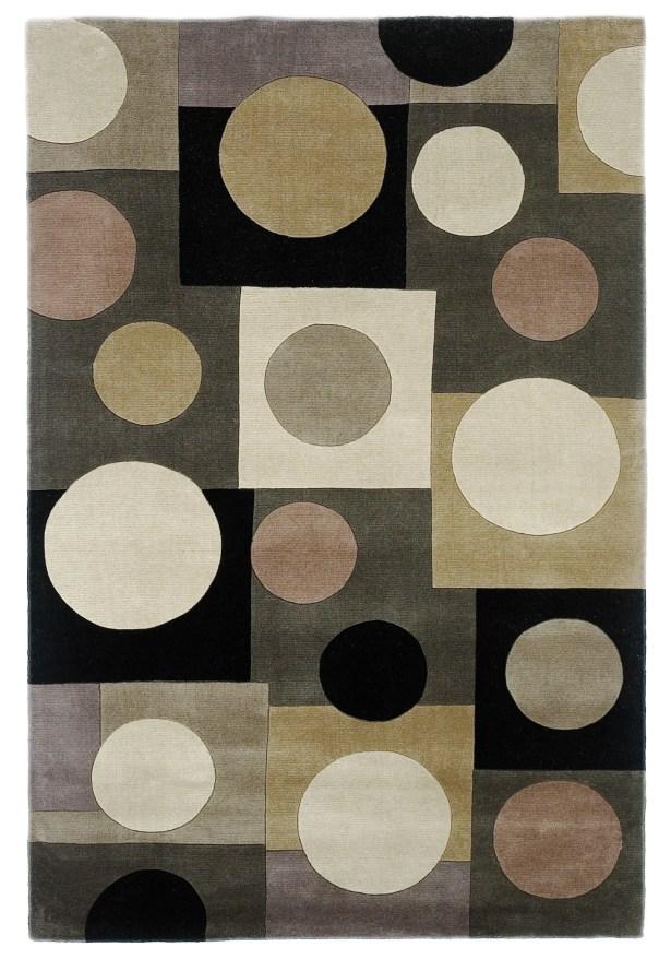 Estrada Hand-Tufted Wool Gray/Beige Area Rug