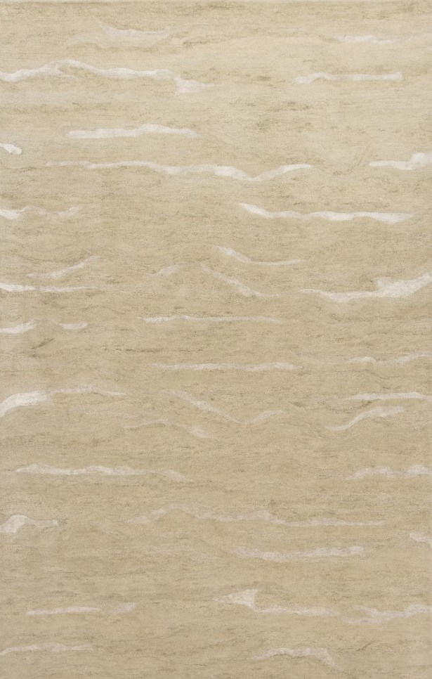 Bonaparte Hand-Tufted Beige Area Rug Rug Size: 8'6