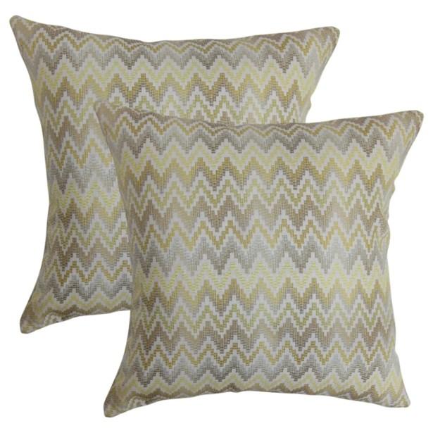 Keyla Zigzag Throw Pillow