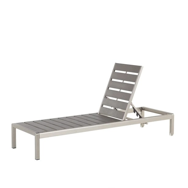 Hayslett Reclining Chaise Lounge Color: Gray