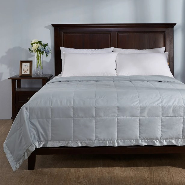 Light Weight Down Duvet Insert with Satin Weave Size: King