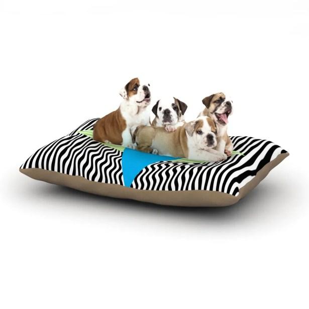 Vasare Nar 'Eye Optical' Dog Pillow with Fleece Cozy Top Size: Small (40