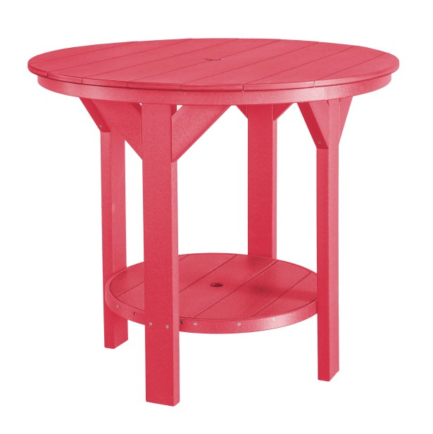Patricia Bar Table Color: Pink