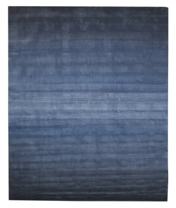 Lacomb Hand-Woven Blue Area Rug Rug Size: Rectangle 5' x 8'
