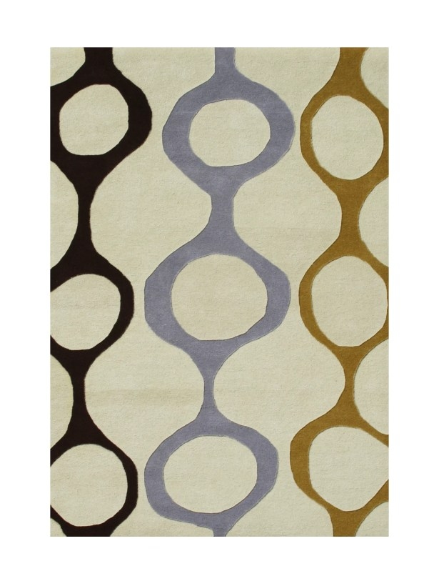 Pizarro Hand-Tufted Cream Area Rug Rug Size: 8' x 10'