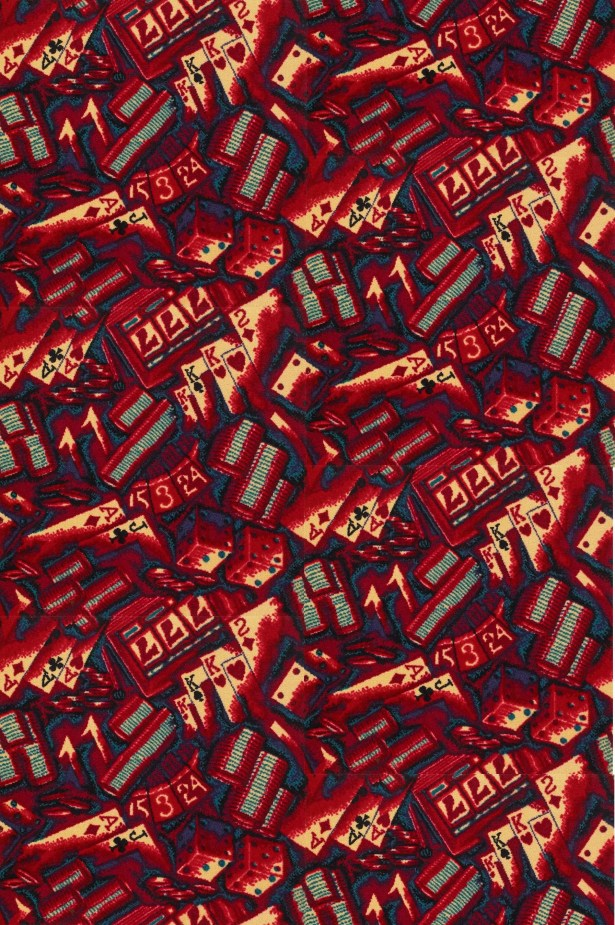 Red Area Rug Rug Size: Square 12'