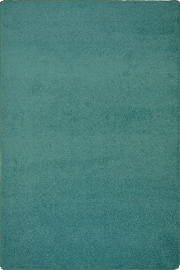 Green Area Rug Rug Size: Rectangle 6' x 9'